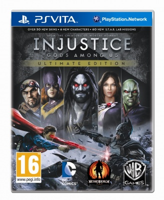 Injustice: Gods Among Us - Ultimate Edition (PS4, русские субтитры)