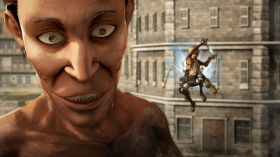 Attack on Titan: Wings of Freedom (Xbox One, английская версия)