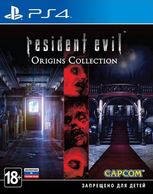 Resident Evil Origins Collection (PS4, английская версия)