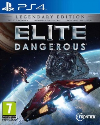 Elite Dangerous: Legendary Edition (PS4, русская версия)