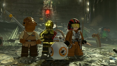 LEGO Star Wars: The Force Awaken - Deluxe Edition (Xbox One, русские субтитры)