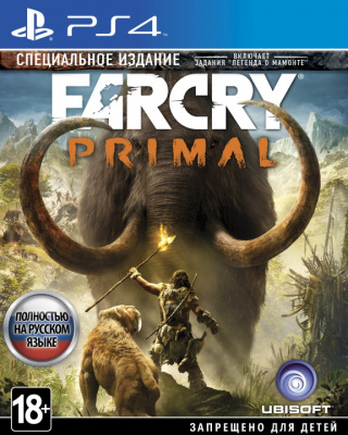 Far Cry Primal: Special Edition (PS4, русская версия)