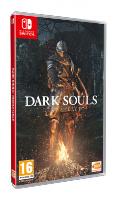 Комплект Nintendo Switch (Grey) (РСТ) + Dark Souls Remastered