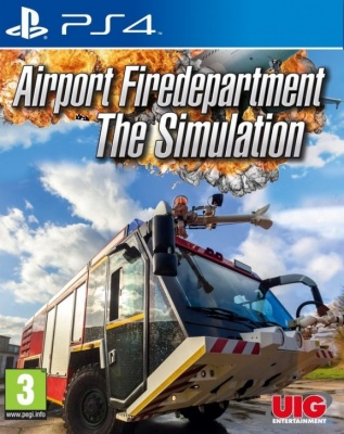 Airport Firedepartment: The Simulation (PS4, английская версия)