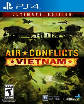 Air Conflict: Vietnam - Ultimate Edition (PS4, русские субтитры)