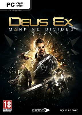 Deus EX: Mankind Divided - Day One Edition (PC, русская версия)