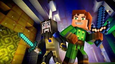 Minecraft: Story Mode - The Complete Adventures (Xbox One, русские субтитры)