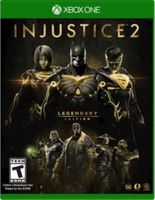 Injustice 2: Legendary Edition (Xbox One, русские субтитры)