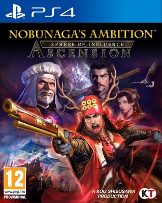 Nobunaga's Ambition: Sphere of Influence - Ascension (английская версия)