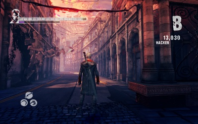 Devil May Cry: HD Collection (PS4, английская версия)