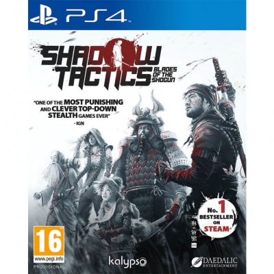 Shadow Tactics: Blades of the Shogun (PS4, русские субтитры)