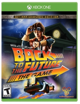 Back to the Future: The Game - 30th Anniversary (Xbox One, английская версия)