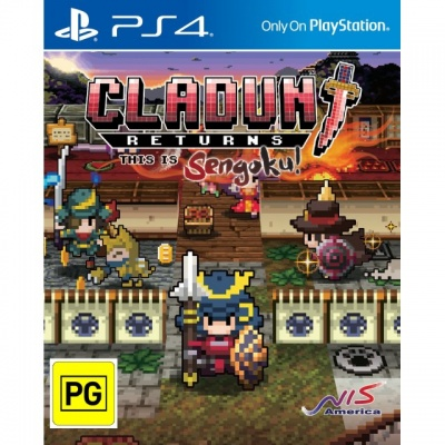 Cladun: Returns - This is Sengoku! (PS4, английская версия)