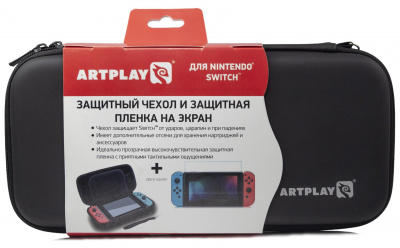 Чехол Artplays (Black), Nintendo Switch