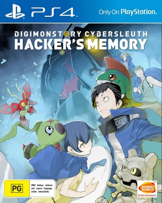 Digimon Story: Cyber Sleuth - Hackers Memory (PS4, английская версия)