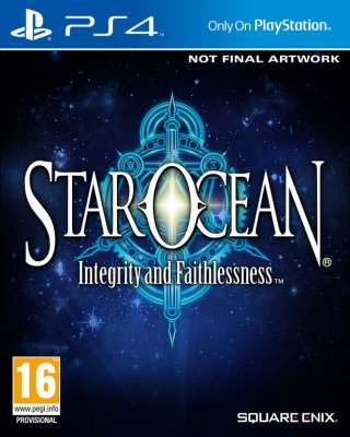 Star Ocean: Integrity and Faithlessness (PS4, английская версия)