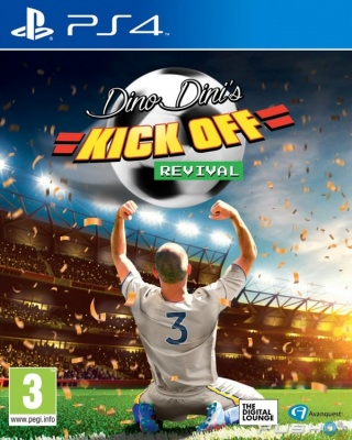 Dino Dini's: Kick Off - Revival (PS4, английская версия)