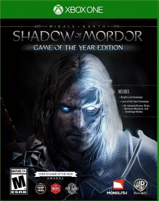 Middle - Earth: Shadow of Mordor - Game of the Year Edition (Xbox One, русские субтитры)