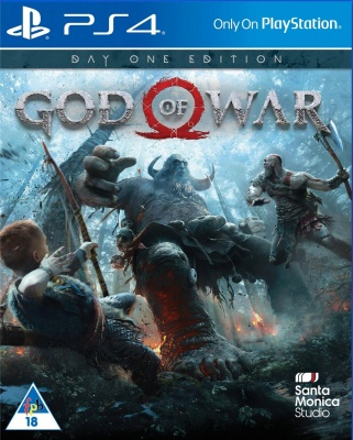 God of War: Day One Edition (PS4, русская версия)