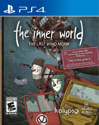 The Inner World: The Last Wind Monk (PS4, русские субтитры)