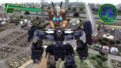 Earth Defense Force 4.1: The Shadow of New Despair (PS4, английская версия)