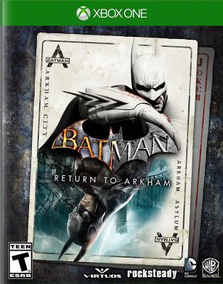 Batman Return to Arkham (Xbox One, русские субтитры)