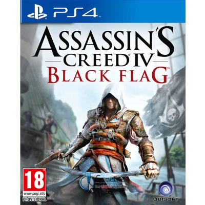 Assassin's Creed 4: Black Flag (PS4, русская версия)
