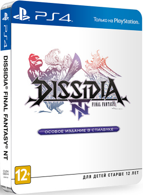 Dissidia NT: Final Fantasy - Steelbook Edition (PS4, английская версия)