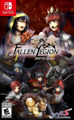 Fallen Legion: Rise to Glory (Nintendo Switch, английская версия)