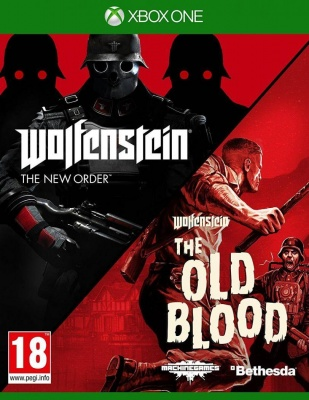 Wolfenstein Double Pack (The New Order + The Old Blood) (Xbox One, русские субтитры)