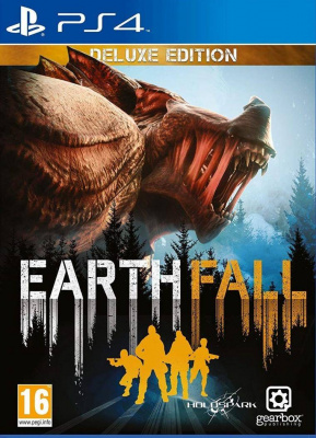 Earth Fall: Deluxe Edition (PS4, русские субтитры)
