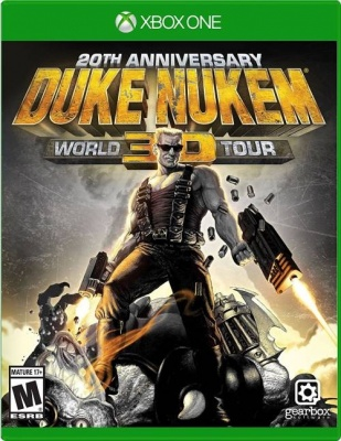 Duke Nukem: World Tour 3D - 20th Anniversary World Tour (Xbox One, русские субтитры)
