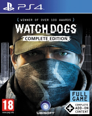 Watch Dogs: Complete Edition (PS4, русская версия)