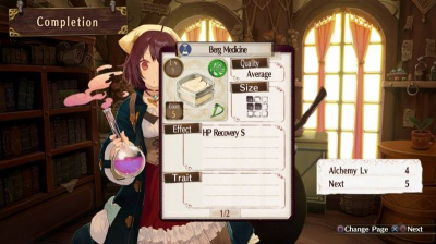 Atelier Sophie: The Alchemist of the Mysterious Book (PS4, английская версия)
