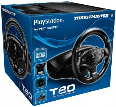 Руль Thrustmaster T80 Racing Wheel Official, PS4