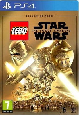 LEGO Star Wars: The Force Awakens - Deluxe Edition (PS4, английская версия)