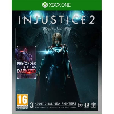 Injustice 2: Deluxe Edition (Xbox One, русские субтитры)